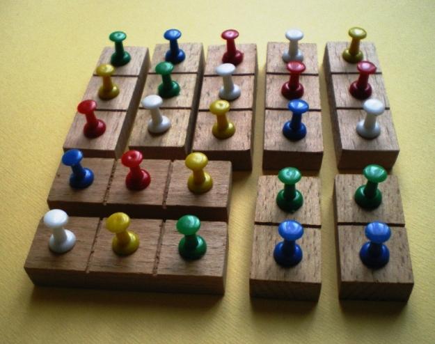 Pushpin square match